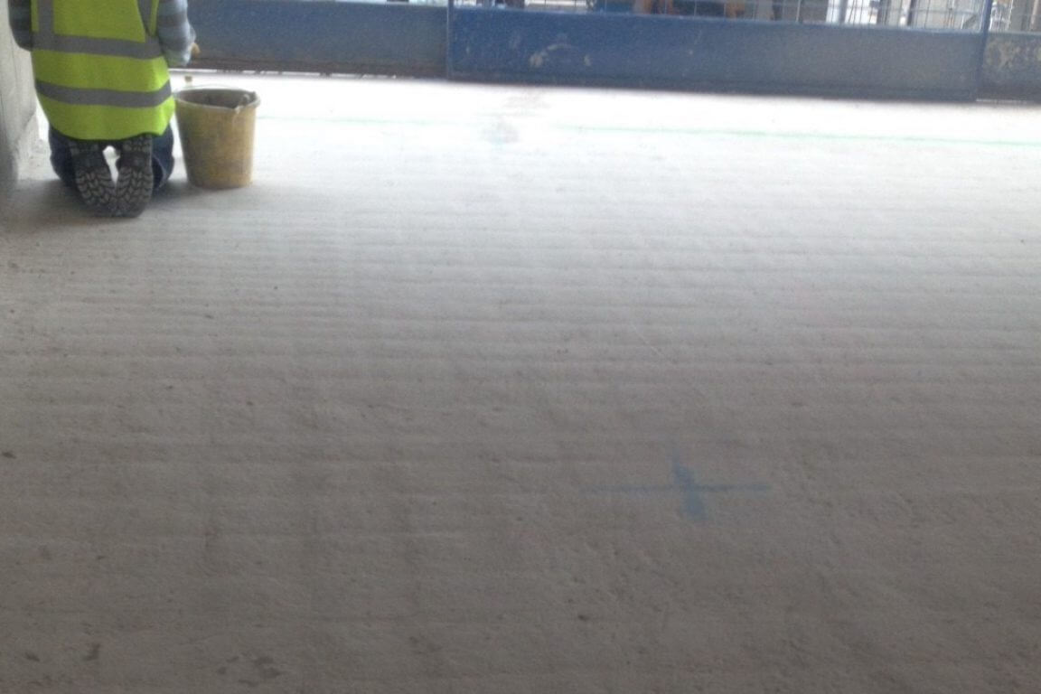 Why it's essential to prepare floors properly when a surface DPM is specified