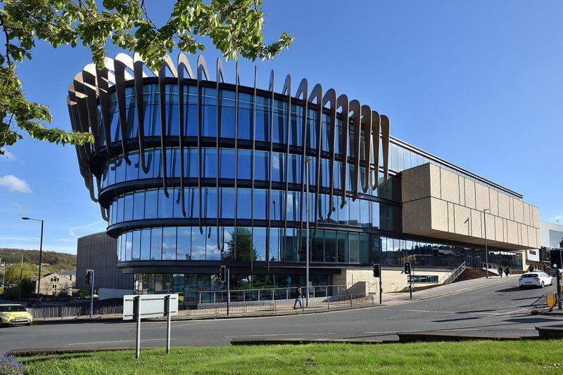 University of Huddersfield Exterior