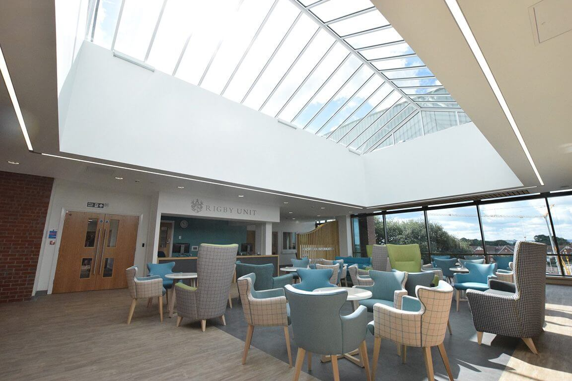 Bostik's subfloor preparation products pave the way at Stratford Hospital