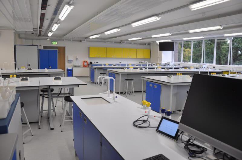 Swansea University - Chemistry Suite interior