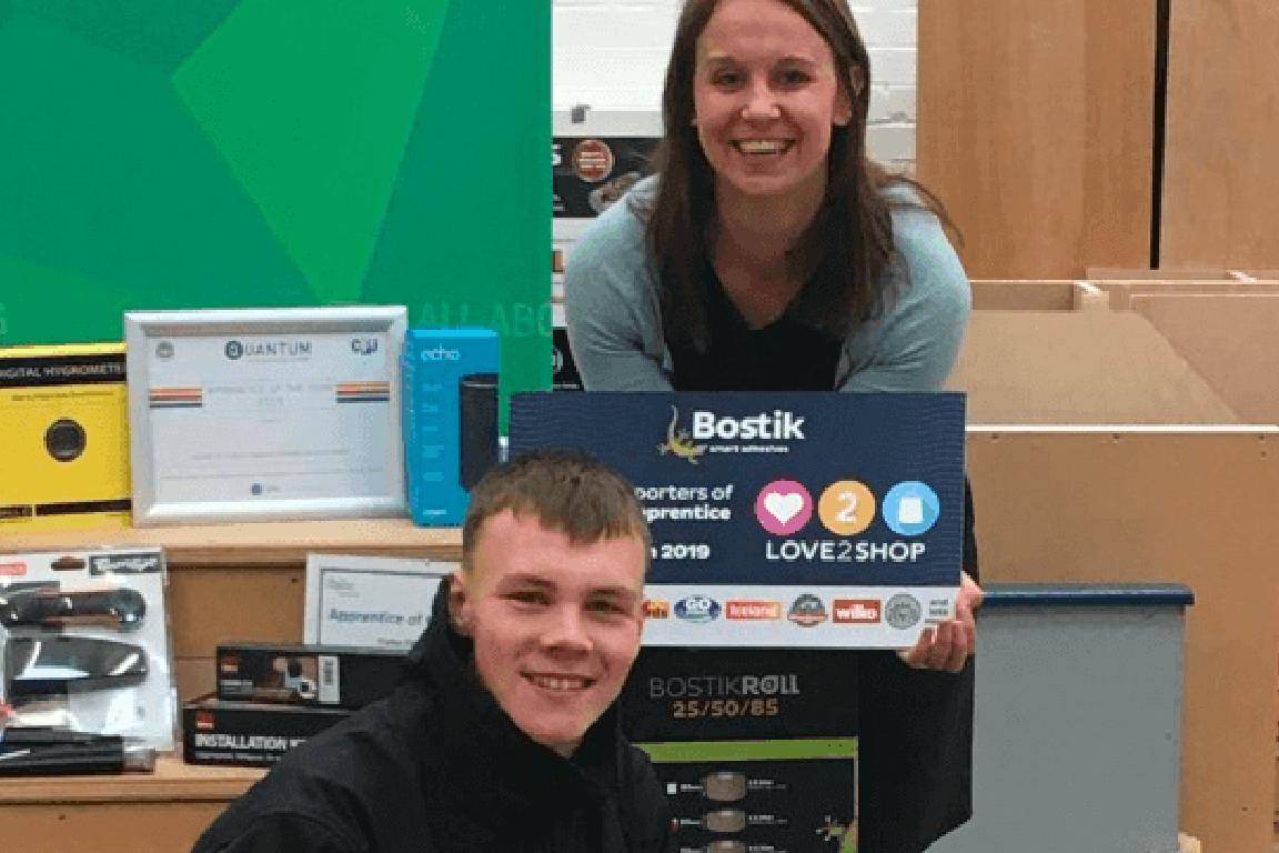 Congratulations Tom – CFA/CFJ Apprentice of the Year 2019