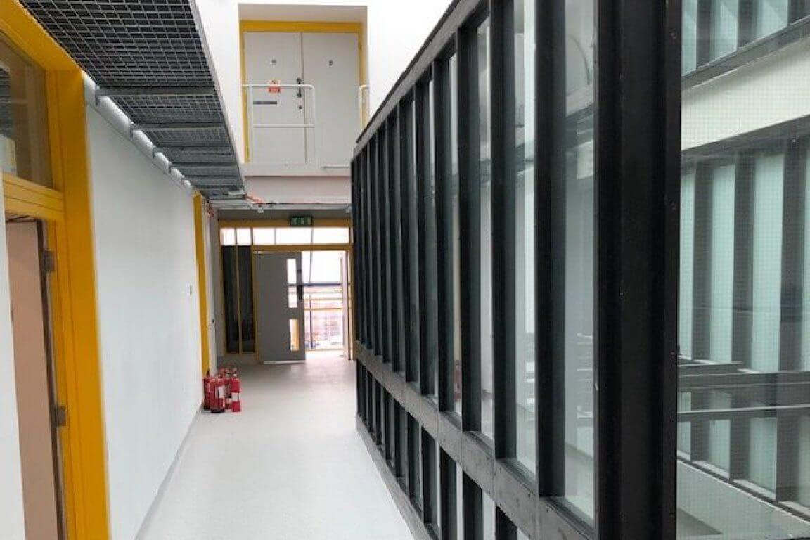 Bostik demonstrates the art of flooring at University of Suffolk