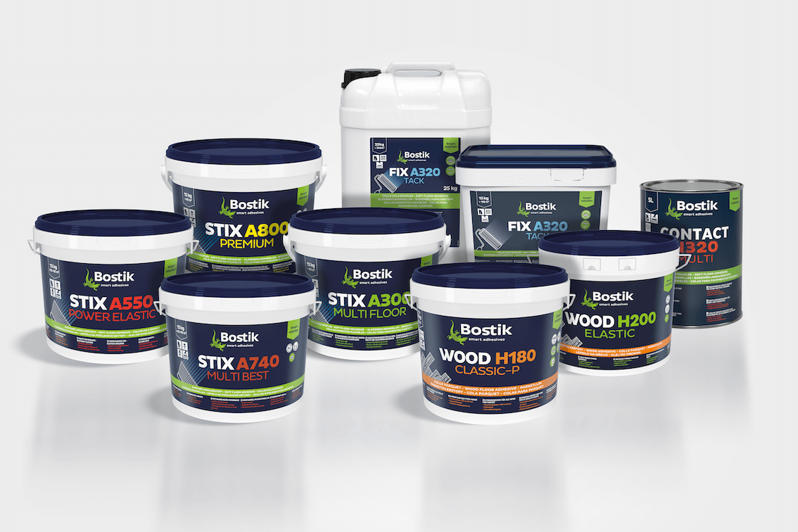 Bostik flooring adhesives – updated product codes